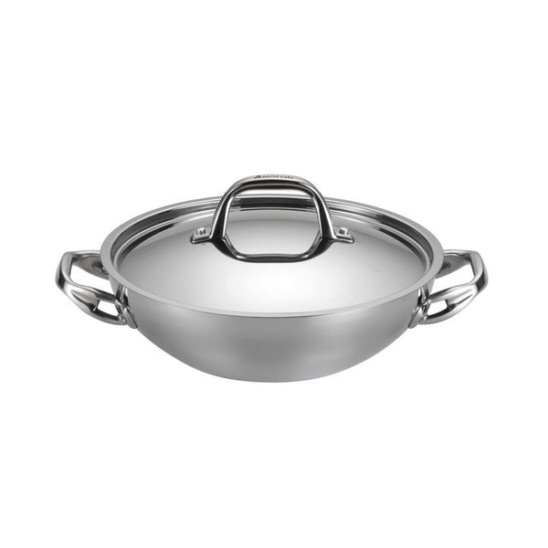 ANOLON 3-QT. Covered Braiser, Stainless Steel