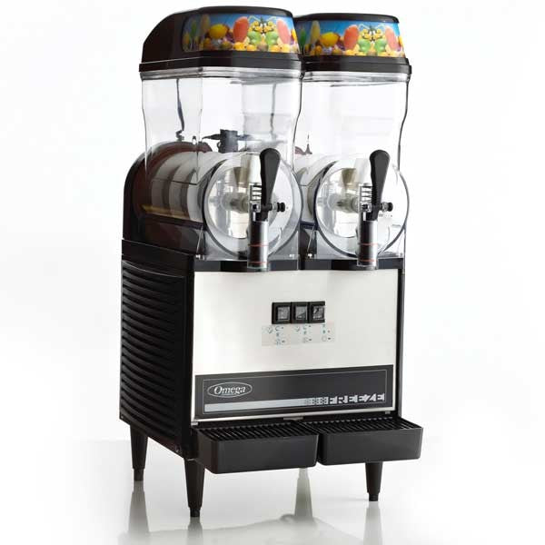 Omega OFS20 Commercial 1/3-Horsepower 710-Watt Granita Machine