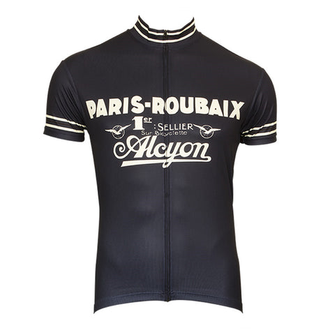 Paris-Roubaix Retro Cycling Jersey