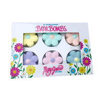 Bath Bomb Flowers Gift Pack