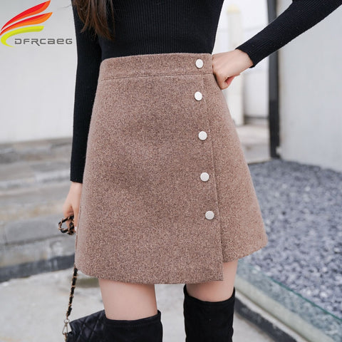 Winter Skirt Women Skort