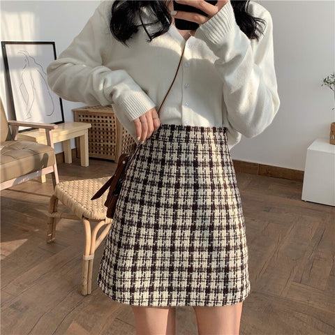 Autumn Winter Women Skirt