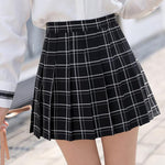 Lattice Pleated Skirt