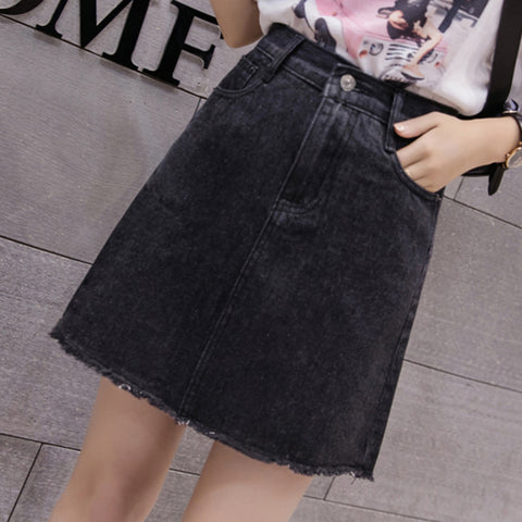 Korean Denim Skirts