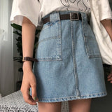 Casual Zipper Skirts
