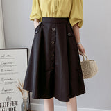 Summer Women Midi Skirts