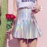 Fashion Holographic Skirts