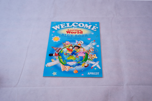 Welcome to the Learning World Blue Book アプリコット出版