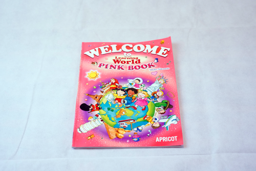 Welcome to the Learning World Pink Book アプリコット出版