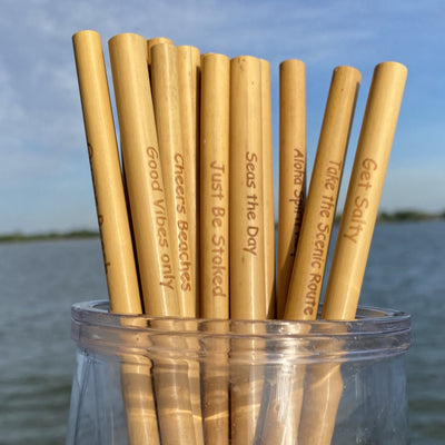 Personalize your own Bamboo Straw kit