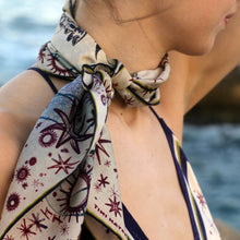Load image into Gallery viewer, Astarte Phoenician Goddess - Silk Scarf