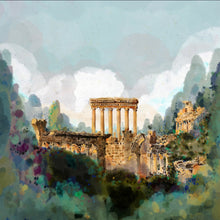 Load image into Gallery viewer, City of the Sun, Baalbek Ruins - Giclée Print