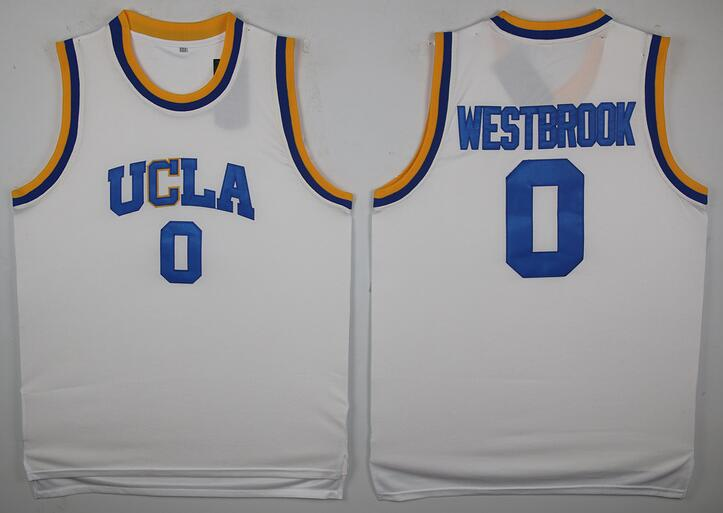 separation shoes 0699d f4797 Russell Westbrook #0 UCLA Stitched College Basketball Jersey