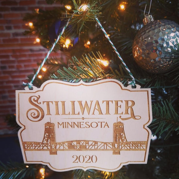 When You Purchase A Commemorative Stillwater 2020 Ornament You Are Giving Back To The Stillwater Business Community!