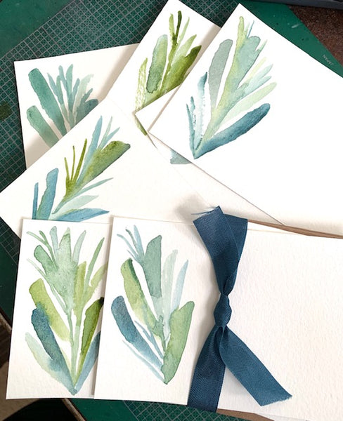 Watercolor Painting and Intro To Mosaic Sampler Classes Are Here - Make It At The Mercantile!