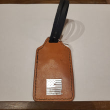 "Load image into Gallery viewer, Luggage Tag Leather Assorted colors-  25% off enter ""Beasley"" in code"