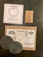 Load image into Gallery viewer, Leather Coin Purse Kit