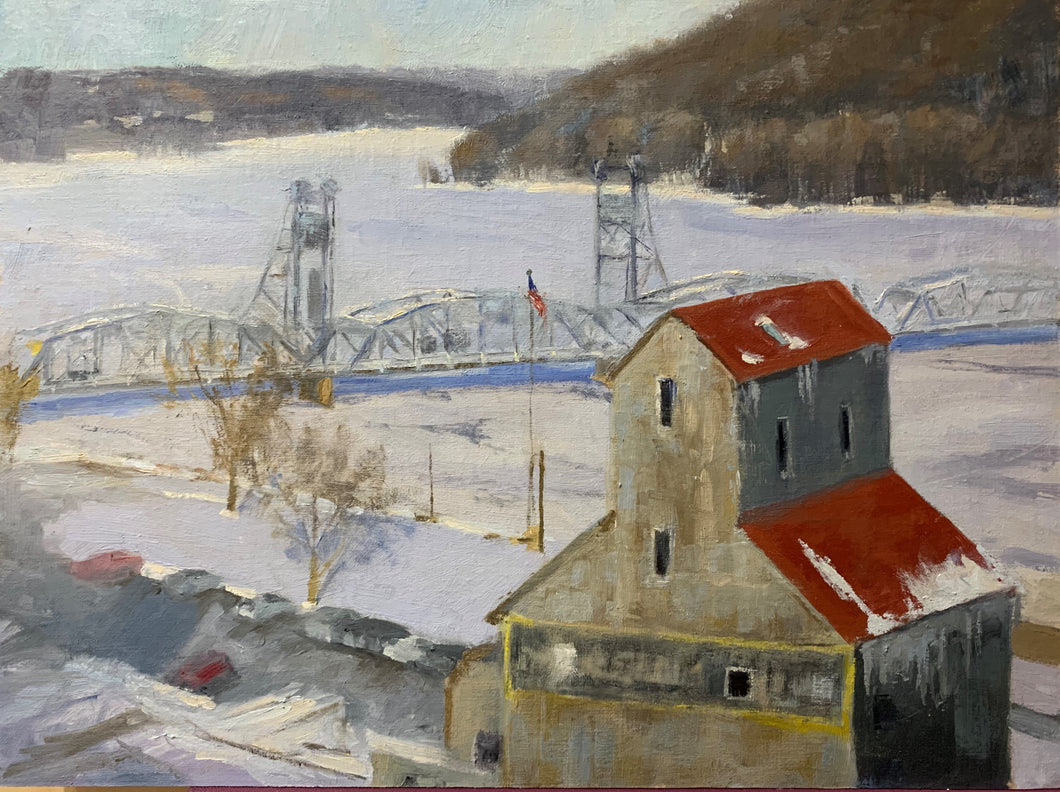 Frozen Stillwater-Giclee Prints