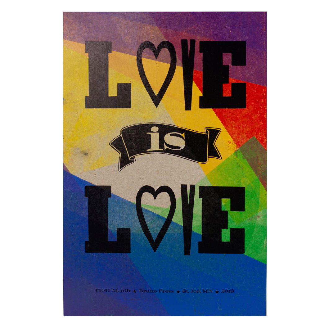 Poster, Love is Love