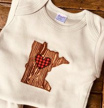 Load image into Gallery viewer, Baby Onesies Minnesota