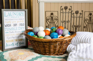 WOOL DRYER BALLS - SINGLE