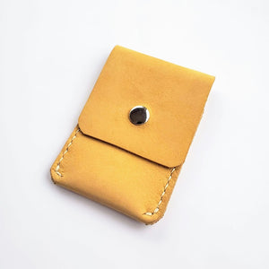 Business Card Leather Case Kit