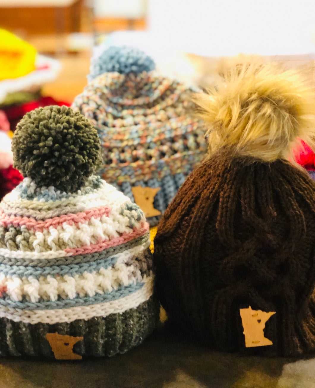 Adult knit Hat Assorted