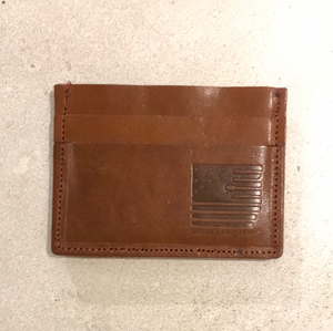 Horizontal Card Holder Leather