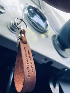 Key Chain Leather assorted colors