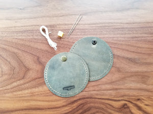 Leather Coin Purse or ear bud Kit
