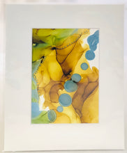 Load image into Gallery viewer, 5x7 Matted Assorted Alcohol Ink Originals