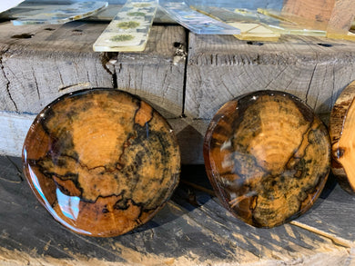 Spalted Birch Coasters