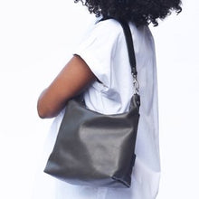 Load image into Gallery viewer, Luxe leather med slouchy bag