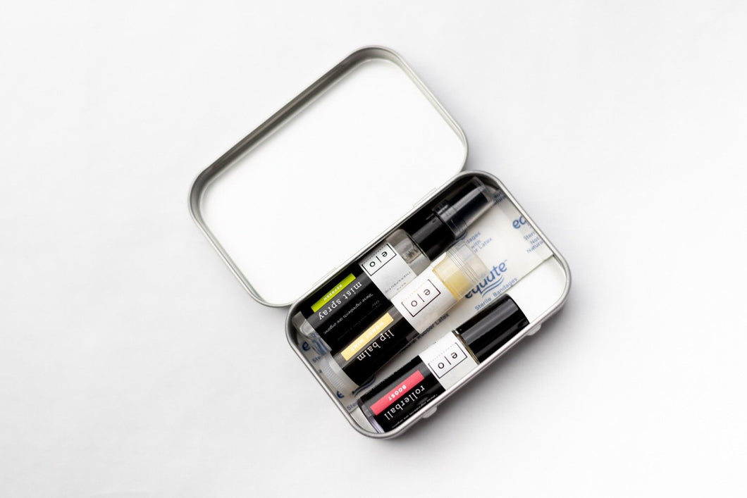 Travel Essentials Tin