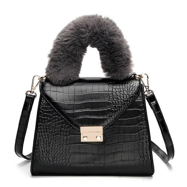 Aria Crocodile Handbag