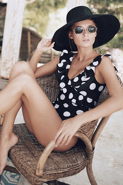 AUDREY POLKA-DOT SWIMSUIT