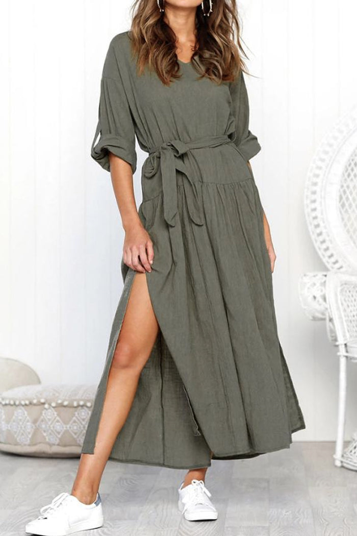GABRIELLA CASUAL LOOSE MAXI SUNDRESS
