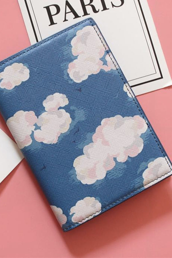CLOUDY SKY PASSPORT COVER