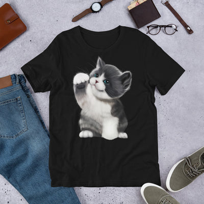 Cat Lovers | Cat T-Shirt Gift | Love Cats | Love of a Cat | T-Shirt | Cute Cat Shirt | Playful Kitten | Short-Sleeve Unisex T-Shirt - Storex Sale