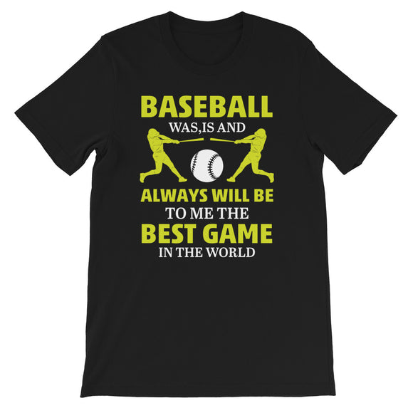 Baseball Short-Sleeve Unisex T-Shirt | Sport Shirt | Gifts For Baseball Fans | Printed Baseball Shirt | Birthday Gift | Team Shirts