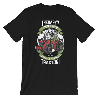 Therapy Tractor Shirt | Farming Shirt | Gift For Farmer | Unisex Funny Shirt | Tractor Shirt | Birthday Gift | Farmers Shirts - Storex Sale