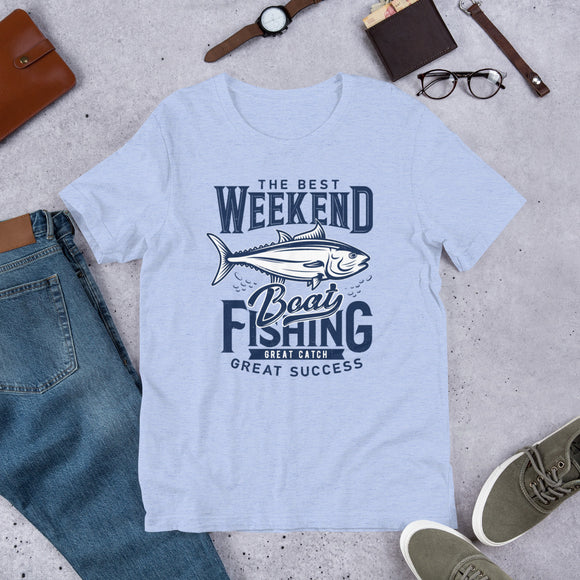 Weekend Fishing Shirt | Gift For Fisherman | Fishing Trip Shirt |  Birthday Gift | Weekend Boat Trip | Gifts For Men | Boat T-Shirt