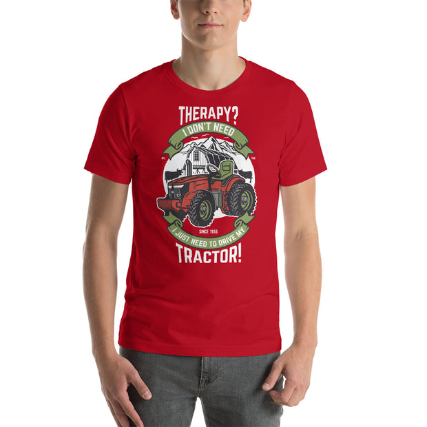 Therapy Tractor Shirt | Farming Shirt | Gift For Farmer | Funny Farm Shirt | Tractor T-Shirt | Tractor Gifts | Therapy Tee