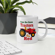 Crops are green Tractors are red - Storex Sale