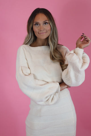 COZY VIBES SWEATER SET