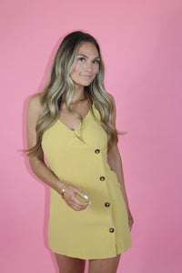 LEMON DROP MINI DRESS