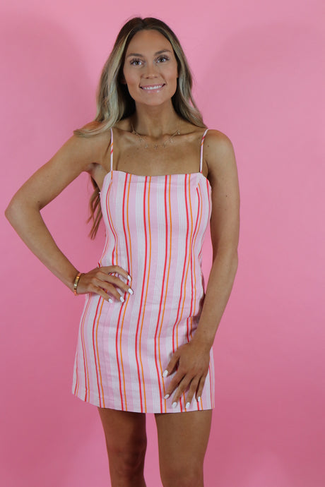 PINK LEMONADE MINI DRESS