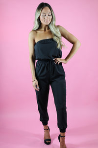EFFORTLESSLY CHIC JOGGER JUMPSUIT