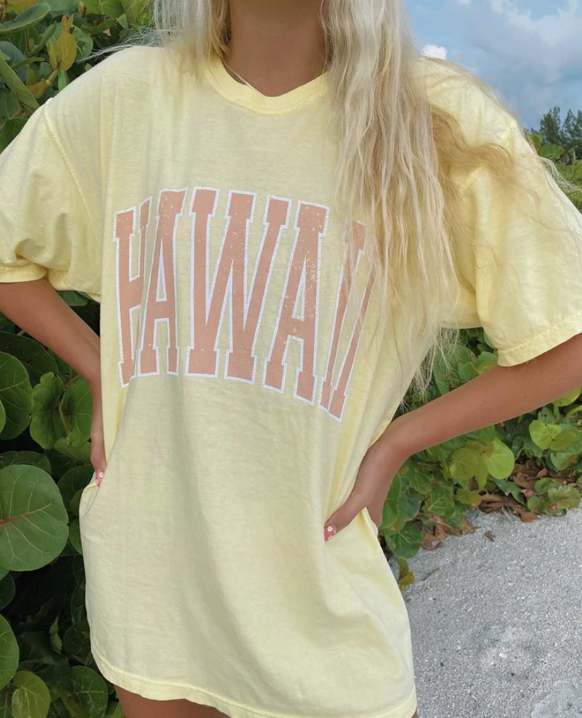 HAWAII SUNSET TEE