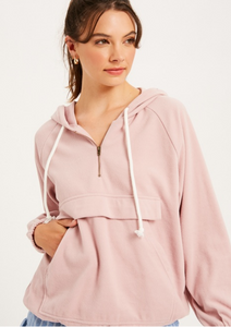 MAKING ME BLUSH HOODIE TOP